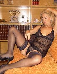 Sexy women getting their panties